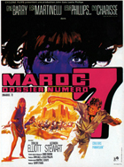 Maroc 7 - 11 x 17 Movie Poster - French Style A