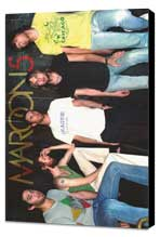 Maroon 5 - 11 x 17 Music Poster - Style A - Museum Wrapped Canvas
