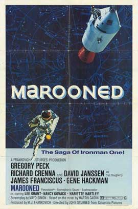 Marooned - 11 x 17 Movie Poster - Style A