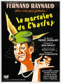 Marraine de Charley, La - 27 x 40 Movie Poster - French Style A