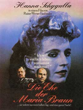 The Marriage of Maria Braun - 11 x 17 Movie Poster - Style B