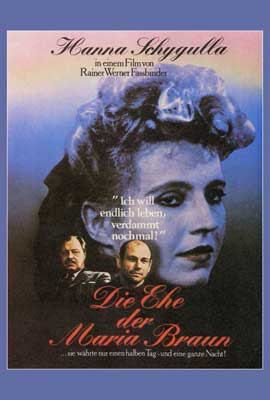The Marriage of Maria Braun - 27 x 40 Movie Poster - Style B