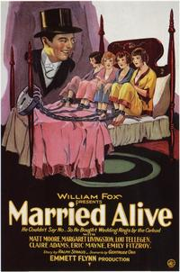 Married Alive - 11 x 17 Movie Poster - Style A