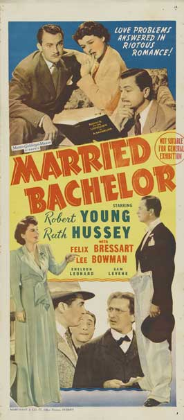Married Bachelor - 11 x 17 Movie Poster - Australian Style A
