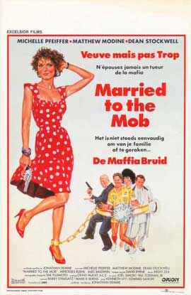Married to the Mob - 11 x 17 Movie Poster - Belgian Style A
