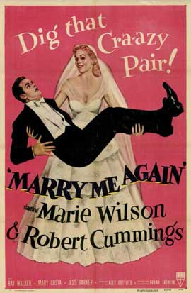 Marry Me Again - 11 x 17 Movie Poster - Style A