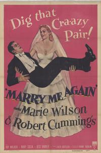 Marry Me Again - 43 x 62 Movie Poster - Bus Shelter Style A