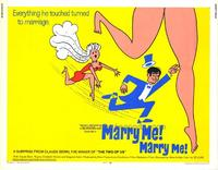 Marry Me, Marry Me - 11 x 14 Movie Poster - Style A