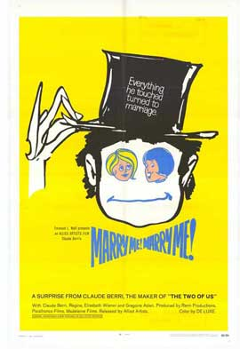 Marry Me, Marry Me - 11 x 17 Movie Poster - Style A