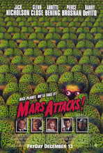 Mars Attacks! - 11 x 17 Movie Poster - Style B
