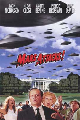 Mars Attacks! - 11 x 17 Movie Poster - Style A