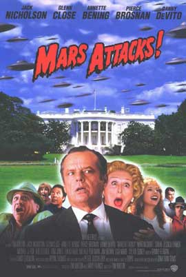Mars Attacks! - 11 x 17 Movie Poster - Style D