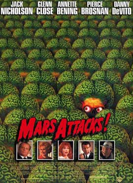 Mars Attacks! - 11 x 17 Movie Poster - Spanish Style A