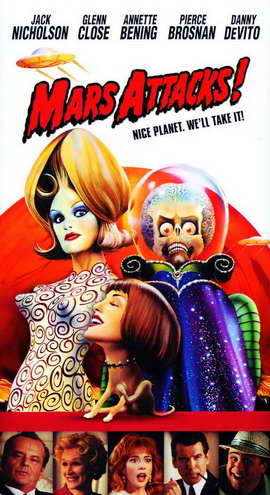 Mars Attacks! - 11 x 17 Movie Poster - Style E