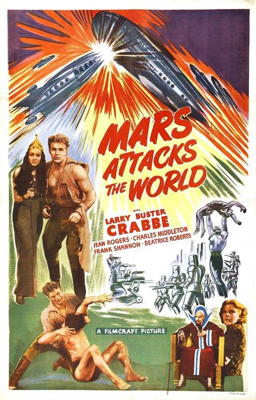 Mars Attacks the World movie