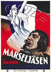 Marseillaise, La - 11 x 17 Movie Poster - Swedish Style A