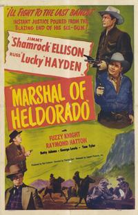 Marshal of Heldorado - 11 x 17 Movie Poster - Style A