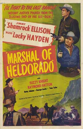 Marshal of Heldorado - 27 x 40 Movie Poster - Style A