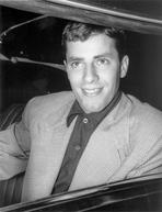 Martin and Lewis (TV) - Dean Martin and Jerry Lewis Posed Inside a Car with Plaid Coat