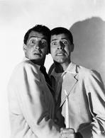 Martin and Lewis (TV) - Dean Martin and Jerry Lewis Scene with Two Men in Shock