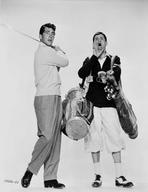 Martin and Lewis (TV) - Dean Martin and Jerry Lewis Scene with a Man in Gulf Attire