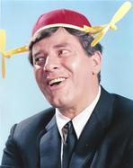 Martin and Lewis (TV) - Dean Martin and Jerry Lewis smiling and wearing a Fancy Hat