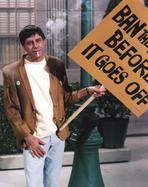 Martin and Lewis (TV) - Dean Martin and Jerry Lewis Scene with a Man Smoking and Holding a Signage