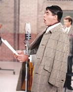 Martin and Lewis (TV) - Dean Martin and Jerry Lewis singing in Coat Portrait