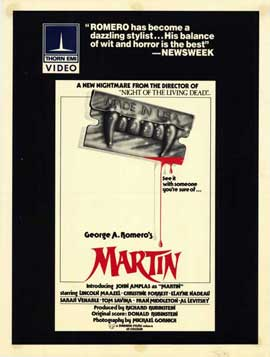 Martin - 11 x 17 Movie Poster - Style A