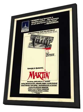 Martin - 11 x 17 Movie Poster - Style A - in Deluxe Wood Frame