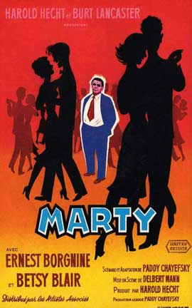 Marty - 11 x 17 Movie Poster - French Style A