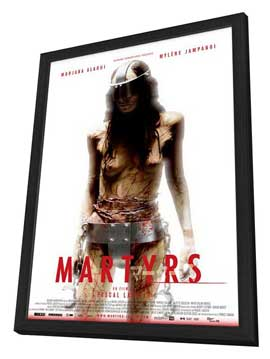 Martyrs - 11 x 17 Movie Poster - Japanese Style B - in Deluxe Wood Frame
