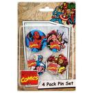 Marvel Heroes - 4-Pack Pin Set