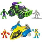 Marvel Heroes - Super Hero Adventures Deluxe Vehicles Wave 3
