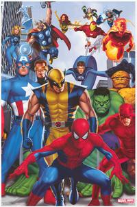 Marvel Heroes - Family Poster - 22 x 34 - Style A