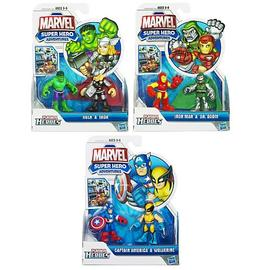 Marvel Heroes - Super Hero Adventures Figure 2-Packs Wave 2 Rev. 2