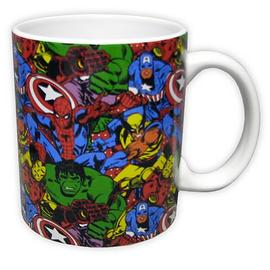 Marvel Heroes - Heroes in Action Mug