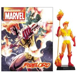 Marvel Heroes - Comics Firelord Collector Magazine with Figure