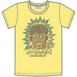 Marvel Heroes - Luke Cage Power Man Yellow T-Shirt