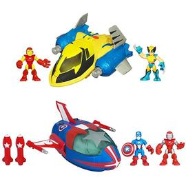 Marvel Heroes - Super Hero Adventures Deluxe Vehicles Wave 2