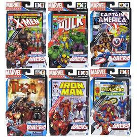 Marvel Heroes - Universe Figures Comic Packs Greatest Battles Wave 1