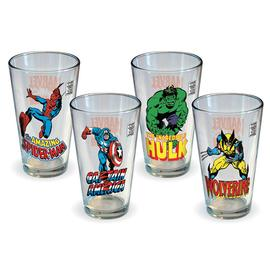 Marvel Heroes - Comics Heroes Pint Glass 4-Pack