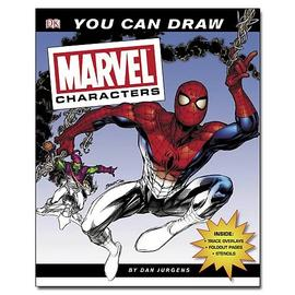 Marvel Heroes - You Can Draw Characters Book