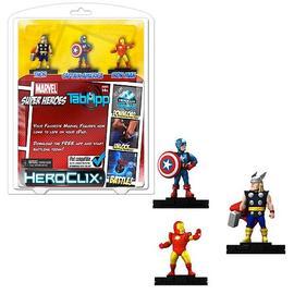 Marvel Heroes - Superheroes HeroClix TabApp 3-pack