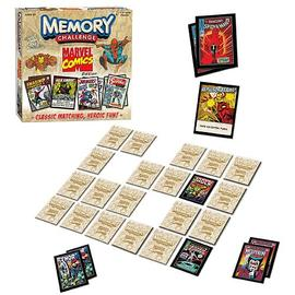 Marvel Heroes - Comics Edition Memory Challenge Game