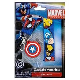 Marvel Heroes - Captain America Shield Dangle Key Chain