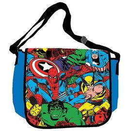 Marvel Heroes - Group Shot Messenger Bag