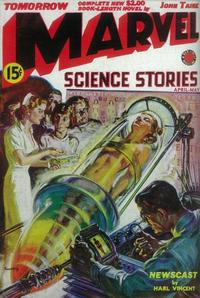 Marvel Science Stories (Pulp) - 11 x 17 Pulp Poster - Style A