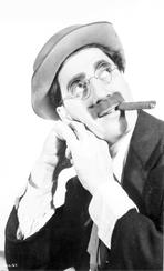 Marx Brothers - Marx Brothers Portrait of a Man wearing Eyeglasses
