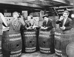 Marx Brothers - Marx Brothers Scene With Four Men Hiding in a Barrel- Photograph Print